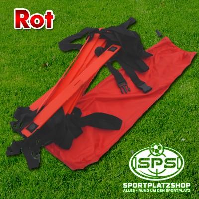 KOO-Leiter Rot mit Tasche