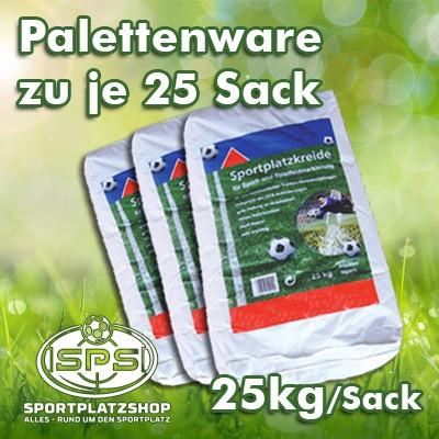 Sportplatzkreide zu 25 x 25 kg per Palette