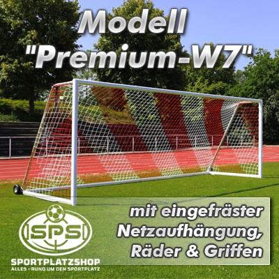 Trainingstor Modell 'Premium-W7' mit eingefräster Netzaufhängung