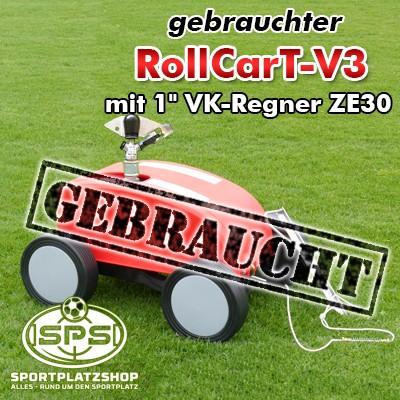 Selbstfahrende Großflächenregner, Rollcar, Remo, Beregnung, Regner, Bewässerungswagen, Rollcart