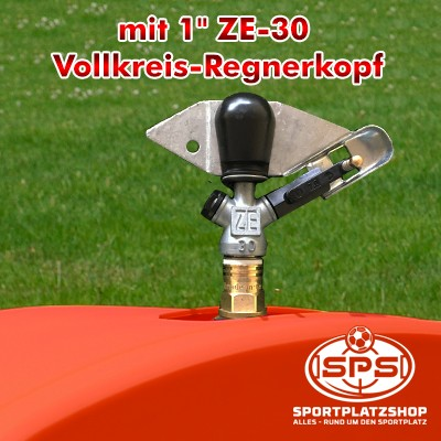 Rollcart, RollcarT-V3, Großflächenregner, Beregnungswagen, Bewässerungswagen, ZE-30 Vollkreisregnerkopf