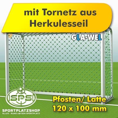Bolzplatztor, Bolztor, Kleinfeldtor, Kleinfeldfußballtor, Handballtor, Herkulesseil Tornetz