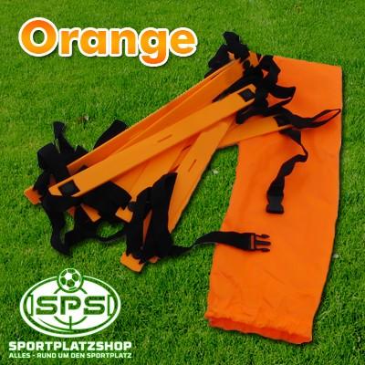 KOO-Leiter Orange mit Tasche