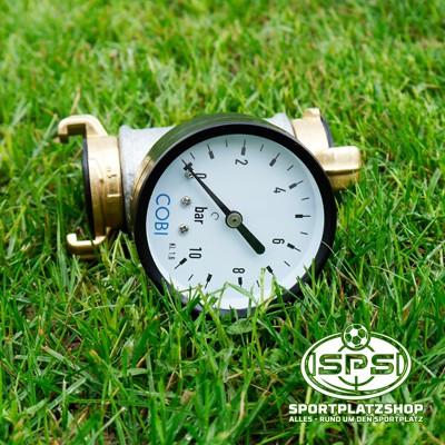 Fließdruckmesser, Druckmesser, Wasserdruckmesser, Manometer, Kupplung