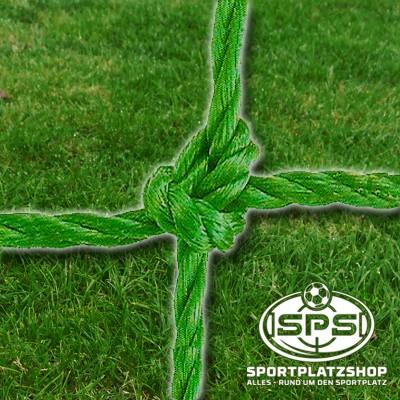 Fußballtornetz, Jugendtor Netz Grün geknotet