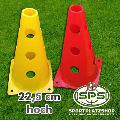 Lochkegel Kegel, Trainingskegel, Übungskegel, Fußballkegel, Hürdenkegel