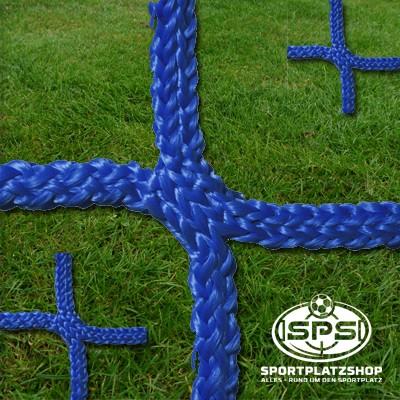 Tornetz 7,5 x 2,5 m Blau, Großfeldtornetz