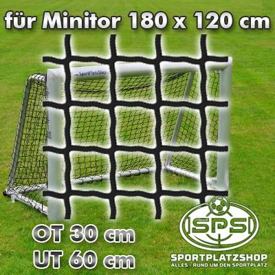 Fußballtornetz, Minitor Netz Schwarz