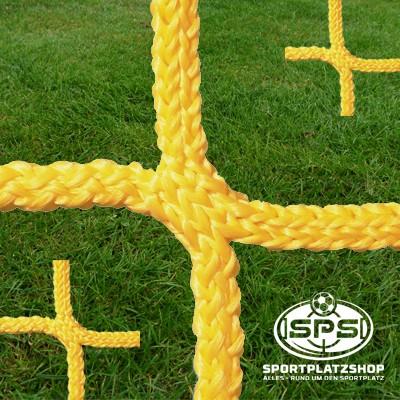 Fußballtornetz, Kleinfeldtor Netz Gelb