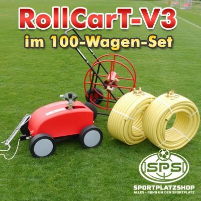 Rollcart, RollcarT-V3, Großflächenregner, Beregnungswagen, Bewässerung, Beregnung