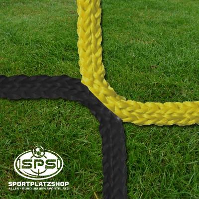 Fußballtornetz, Jugendtor Netz Gelb-Schwarz