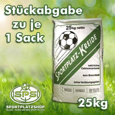 Sportplatzkreide per 25 kg Sack