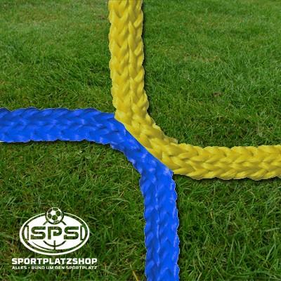 Fußballtornetz, Jugendtor Netz Gelb-Blau