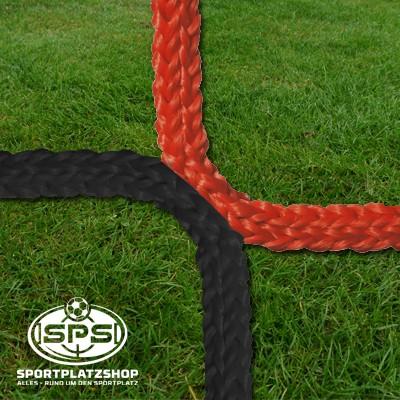 Fußballtornetz, Jugendtor Netz Rot-Schwarz