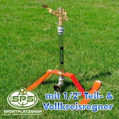 Beregnung, Bewässerung, Regner, Sportplatzbewässerung, Sportplatzberegnung