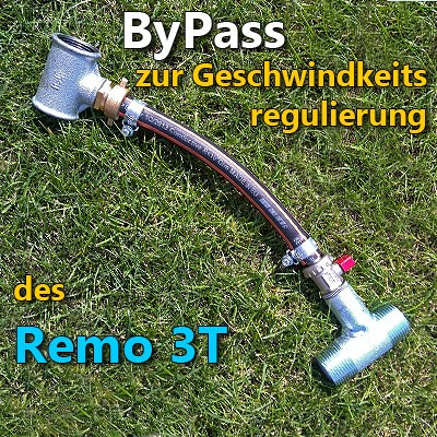 Remo 3T - Bypass zur Geschwindigkeitsregelung