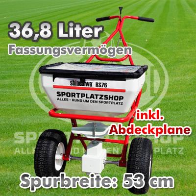 Streuwagen-Luftbereift