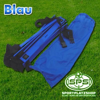 KOO-Leiter Blau mit Tasche