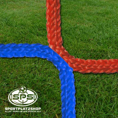 Fußballtornetz, Jugendtor Netz Blau-Rot
