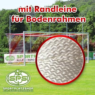 Fußballtor, Trainingstor mit Randleine, Tor, Wettkampftor