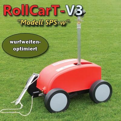 RollcarT-V3 Modell SPSw - wurfweitenoptimiert