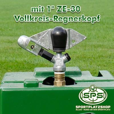 Regenkönig, Beregnungswagen, Großflächenregner, Regner, Bewässerung, Beregnung, ZE-30 Vollkreisregnerkopf