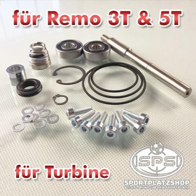 Reparaturkit, Kit, Reparaturset, Turbinenreparaturkit, Turbinenreparaturset, Remo 3T Ersatzteile