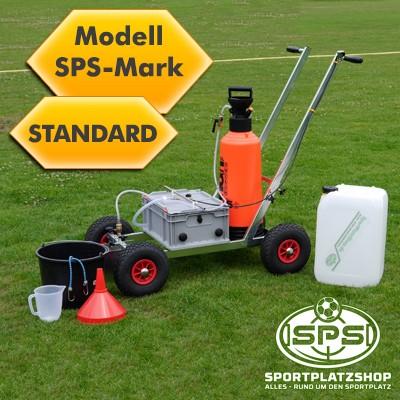 Nassmarkierwagen Modell SPS-Mark Standard, Markierung