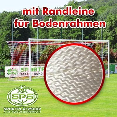 Fußballtor mit Randleine Netzbefestigung, Trainingstor, Wettkampftor