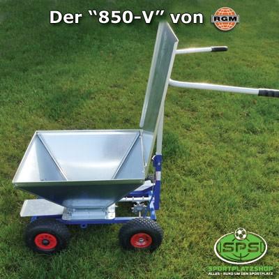 """Modell """"850 V"""" mit verstellbarem Rüttelsieb"""